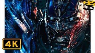 Оптимус знакомится со Своим Создателем(Квинтессой) | Трансформеры: Последний рыцарь (2017) IMAX CLIP