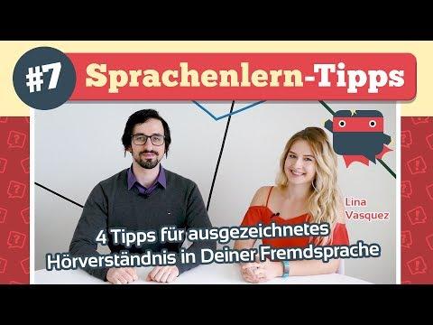 ᐅ 4 Tipps für ausgezeichnetes Hörverstehen in Deiner Fremdsprache