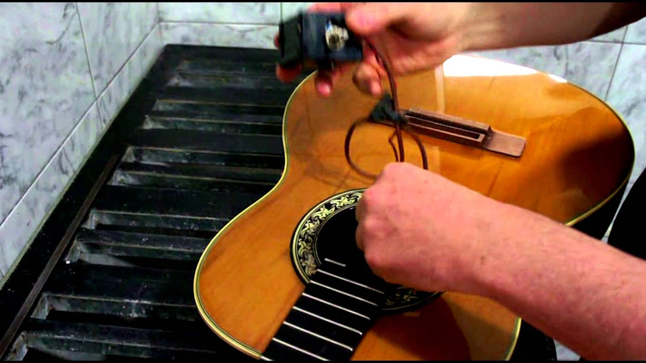 ovation guitar repair murilo luthier and kiko zambianchi [ 1280 x 720 Pixel ]