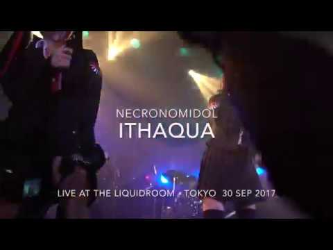 NECRONOMIDOL - ITHAQUA (with The Necroma Band) Live At The LiquidRoom 30 Sep 2017