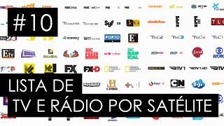 Lista de TV e Rádio por satélite - Apontamento de antenas - #10