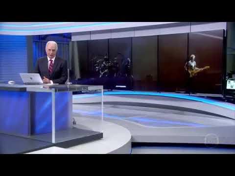 Jornal da Globo - U2 primeiro show em São Paulo