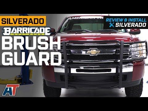 2007-2013 Silverado Barricade Black Brush Guard Review & Install