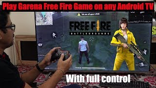 Hindi    How to download & play Garena Free Fire Game on any Android TV   VU   mi