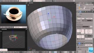 3D моделирование. Blender. Урок 2. Часть 1.(Серия уроков по 3D моделированию с помощью программы Blender. Урок второй., 2011-03-11T19:19:33.000Z)