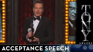 2014 Tony Awards - Bryan Cranston - Best Performance by an Actor in a Leading Role in a Play