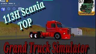 Grand Truck Simulator (GTs) Scania 113H Vermelha !