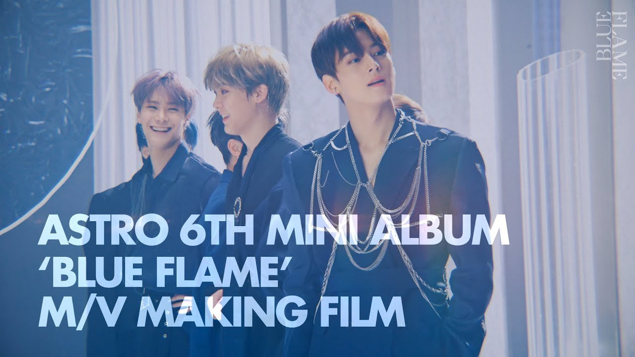 Imagini pentru ASTRO take you behind the scenes of 'Blue Flame' MV