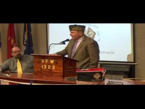 VFW National Commander's Historic Visit to Robert Jack Post #1322