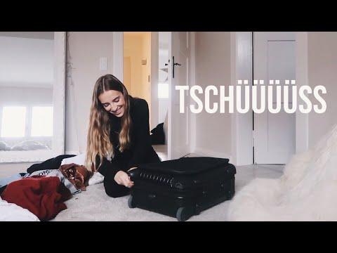 Ich geh schon wieder weg Vlog// Hannah