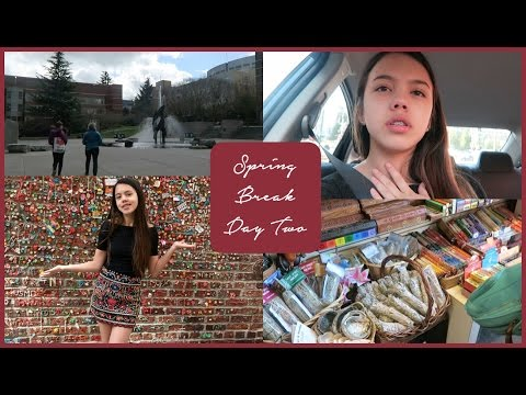 SPRING BREAK DAY 2 VLOG: Pike Place Market, Seattle University, and Star Sighting!