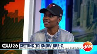 Bre-Z Talks Rapping & Season 2 of 'All American'