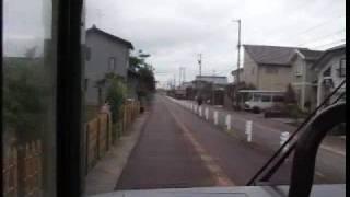 富山のバス専用線