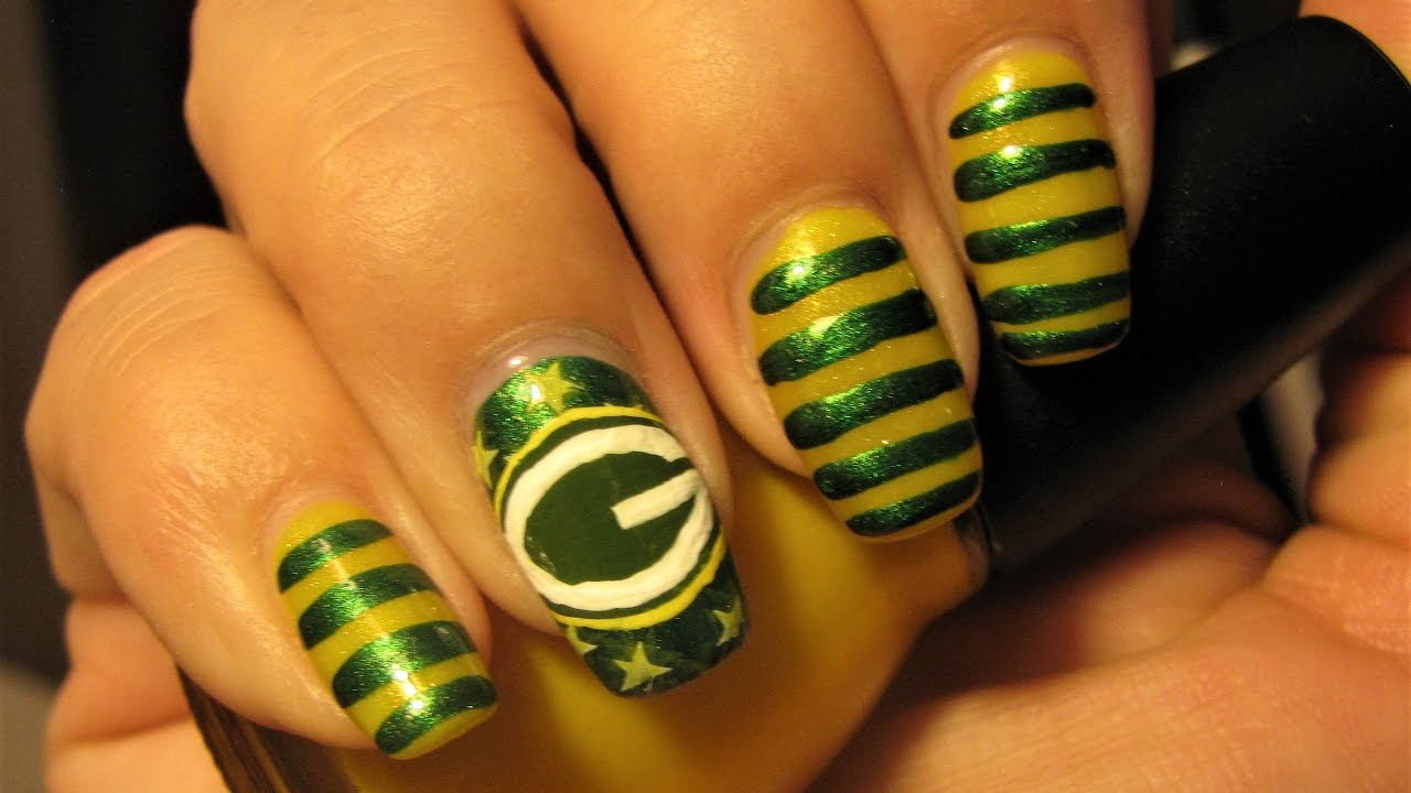 Old Fashioned Packers Nail Art Image - Nail Art Design Ideas ...