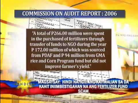 'Fertilizer fund scam went on despite probe'