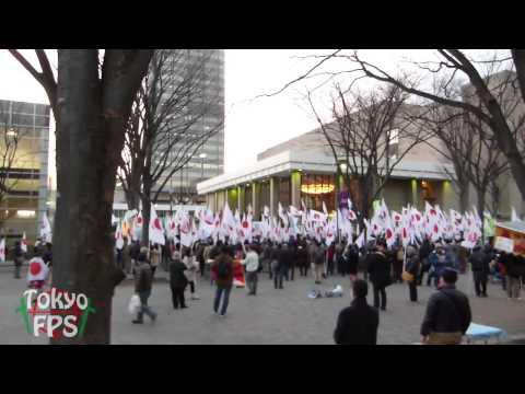 ★Impeachment to the anti-Japan broadcasting station@Shibuya★NHK糾弾街宣
