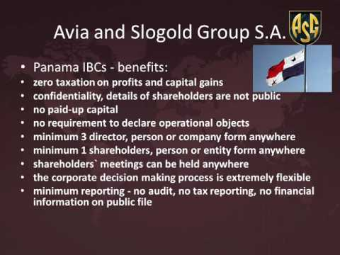 Panama offshore companies by Slogold