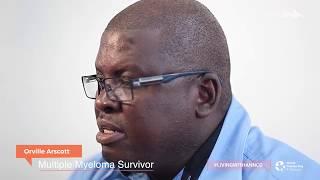 Orville Arscott - #LivingWithAnNCD - Multiple Myeloma Testimonial