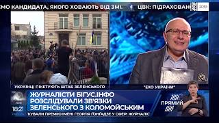 """Ток-шоу Матвія Ганапольского """"Ехо України"""" від 9 квітня 2019 року"""