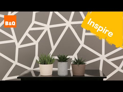 Create a geometric wall