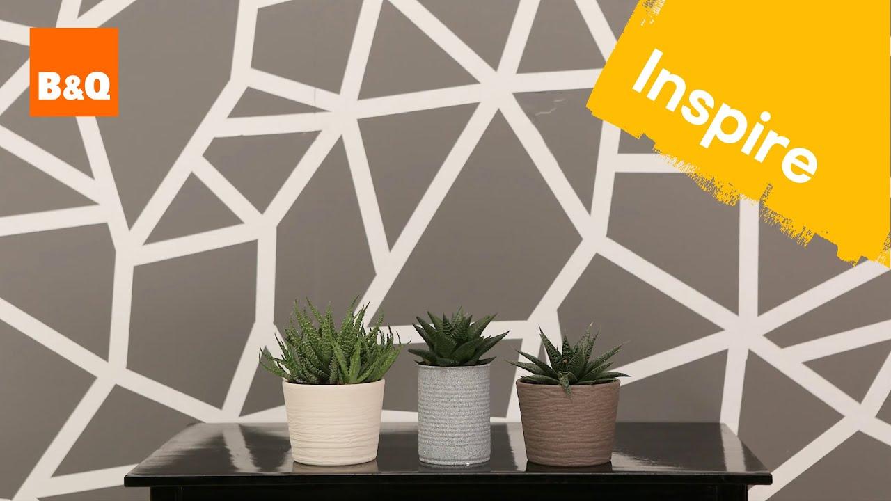 Create a geometric wall - YouTube