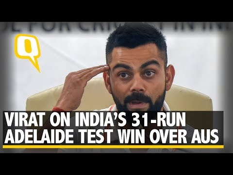 Virat Kohli on Adelaide Victory over Australia | The Quint