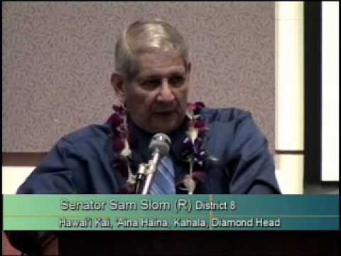 Balanced Budget Summit with Rep. Gene Ward and Senator Sam Slom Part 2