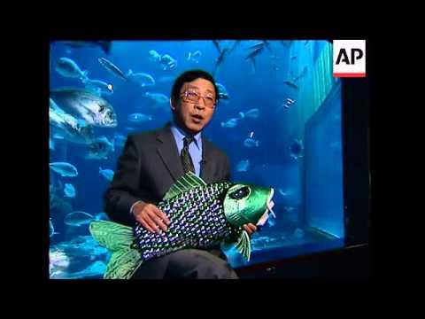 World's first autonomous robotic fish unveiled