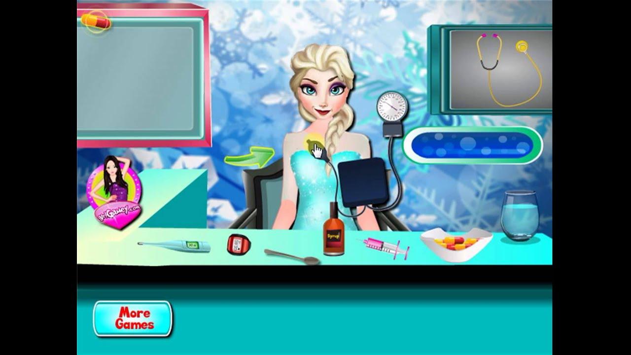 Baby hazel bed time youtube - Disney Frozen Princess Elsa Flu Doctor Baby Hazel Bed Time New Baby Game For Little Kids