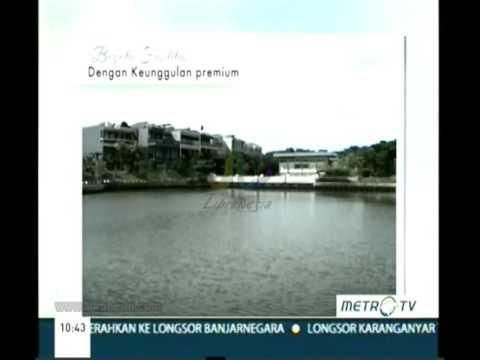Iklan Pantai Indah Kapuk - Bukit Golf Mediterania 15 Jutaan/Bulan Intro Frame Hijau