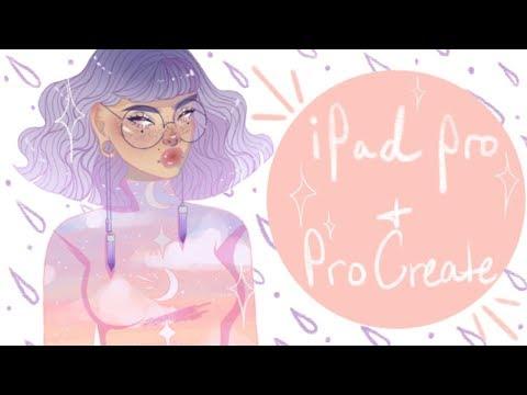"iPad Pro + Pro Create Speedpaint | ""Elara"" | Keely Elle"