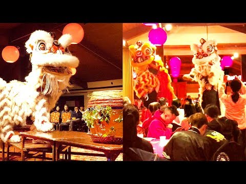 2017 New York United Lion Dance - Opening Dinner & Closing Performances (Boston Competition Event)