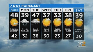 New York Weather: CBS2 12/14 Nightly Forecast at 11PM