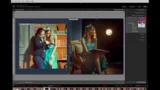 создание фотокниги в программе Lightroom  модуль Print