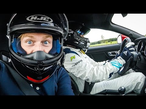 TRACK DAY WITH THE STIG 'Stunt Driver' Ben...