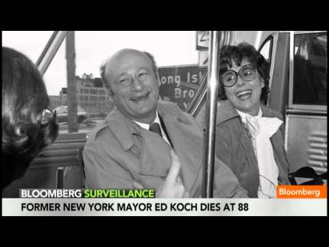 For Ed Koch, New York `Was His Life,' D'Amato Says