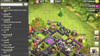 Clash Of Clan Troliando en El chatg