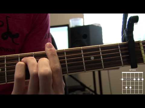 When Hope Came Down Acoustic Guitar Tutorial