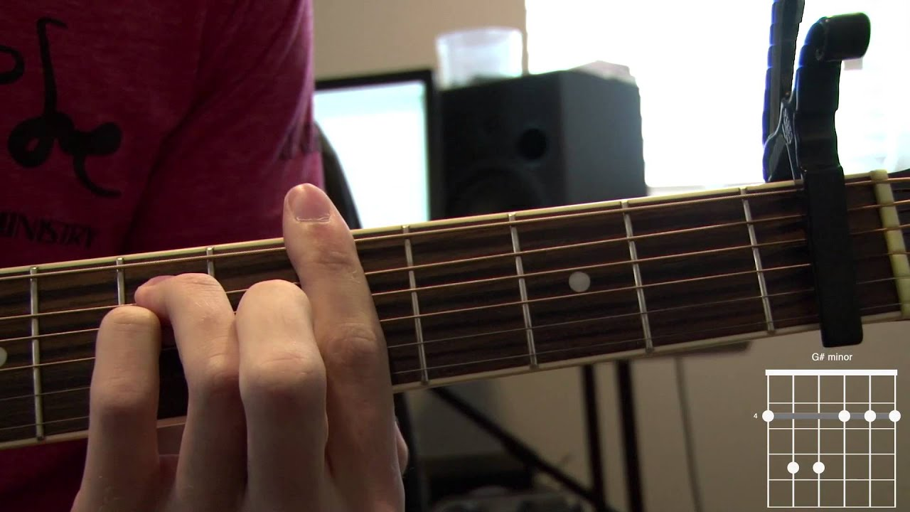 When Hope Came Down Acoustic Guitar Tutorial Youtube