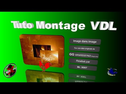 "Montage d'animation type ""Image dans image"""