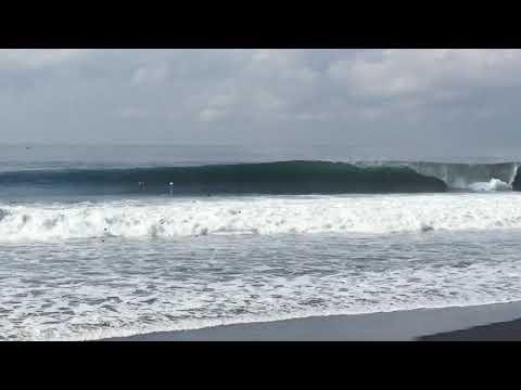 Surfing Spot X east coast of Bali - Ylia Callan