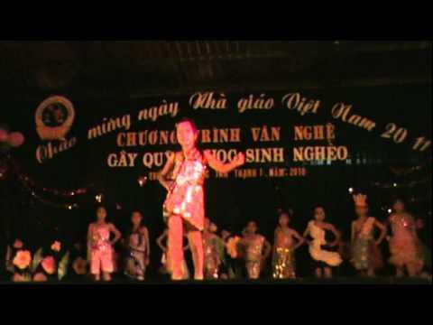Biểu diễn thời trang Tân Thạnh 1 Thanh Bình Đồng Tháp