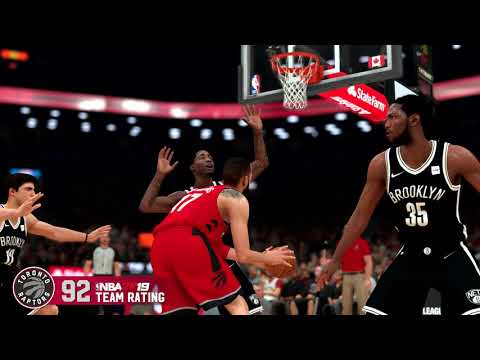NBA 2K19 - Raptors Team Rating