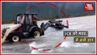 चम्बा में 2 रेत चोर फसे रावी नदी की लहरों में, 24 घंटे चला Rescue Operation