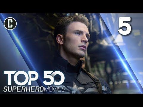 Top 50 Superhero Movies: Captain America: The Winter Soldier - #5