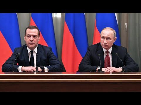 Медведев ушел в отставку. Кто станет премьером? Послание Путина Федеральному собранию - коротко