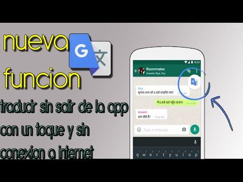 ¡¡¡NUEVA FUNCION DE GOOGLE TRADUCTOR!!! | traduce desde cualquier app y sin internet