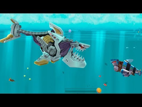 Hungry Shark Evolution Robo Shark Android Gameplay #41