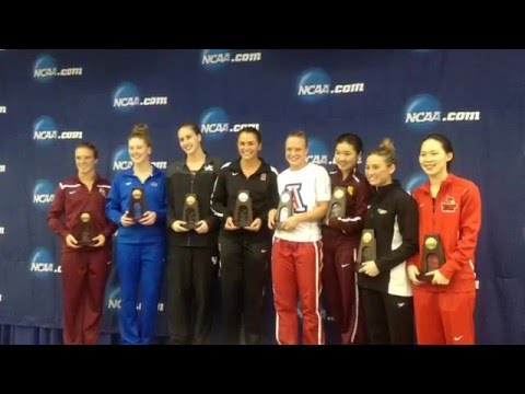 Wenting Zhang NCAA All-American 1-Meter 2015