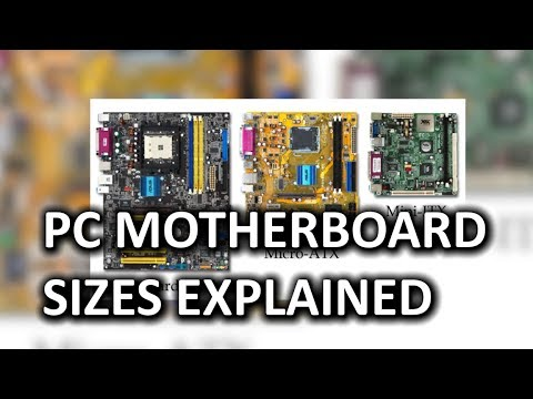 PC Motherboard Sizes as Fast As Possible
